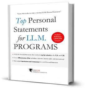 Top LLM Personal Statements eBook