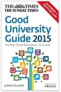 Good University Guide 2015 Law