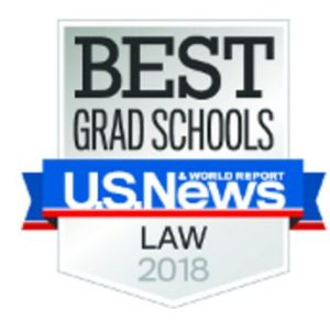 US News Law Ranking 2018